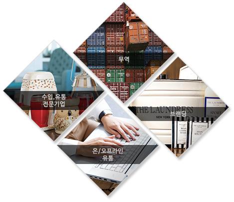 수입,유통 전문기업 온/오프라인 유통  무역 브랜딩